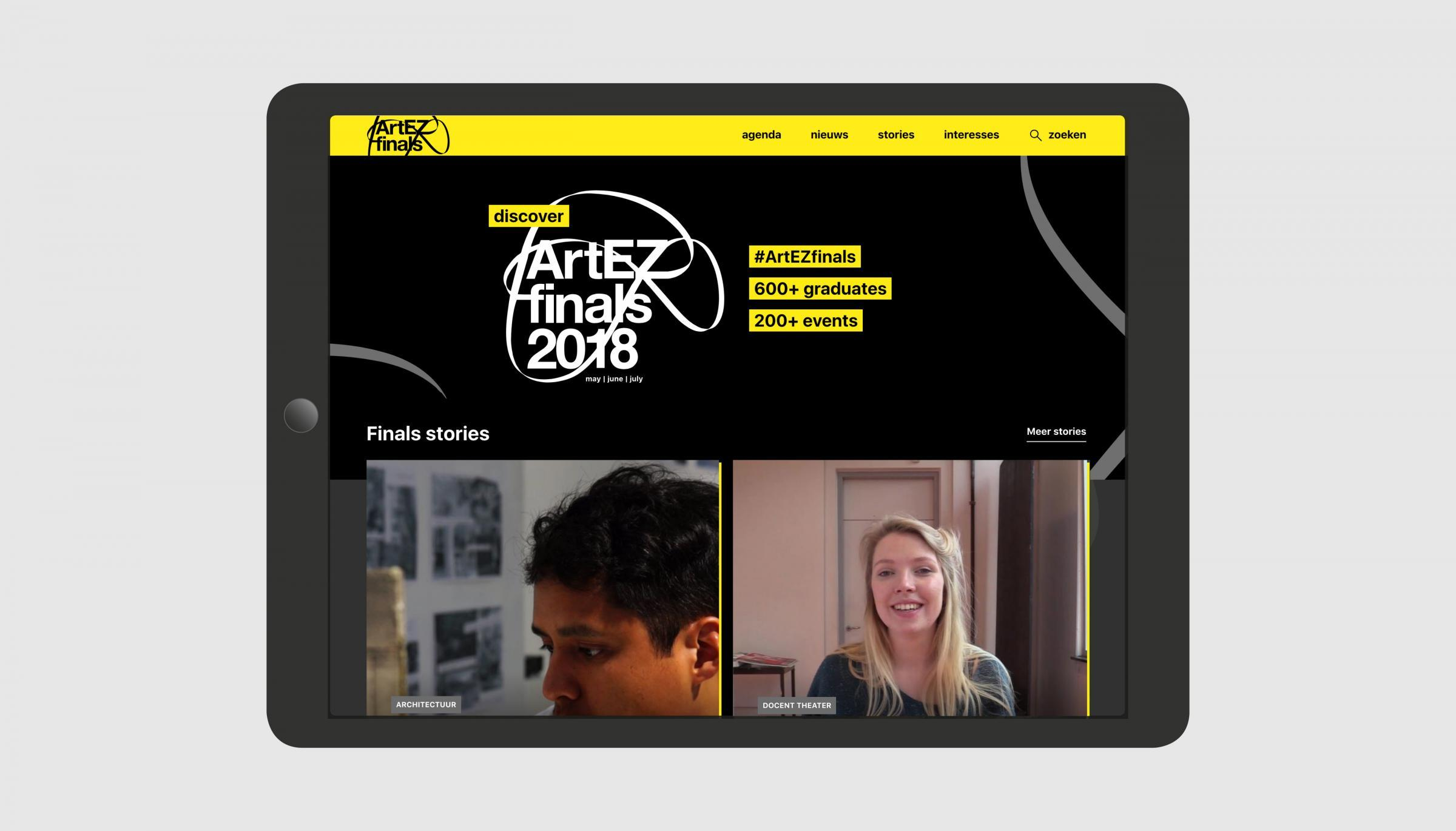 Artez Finals Website