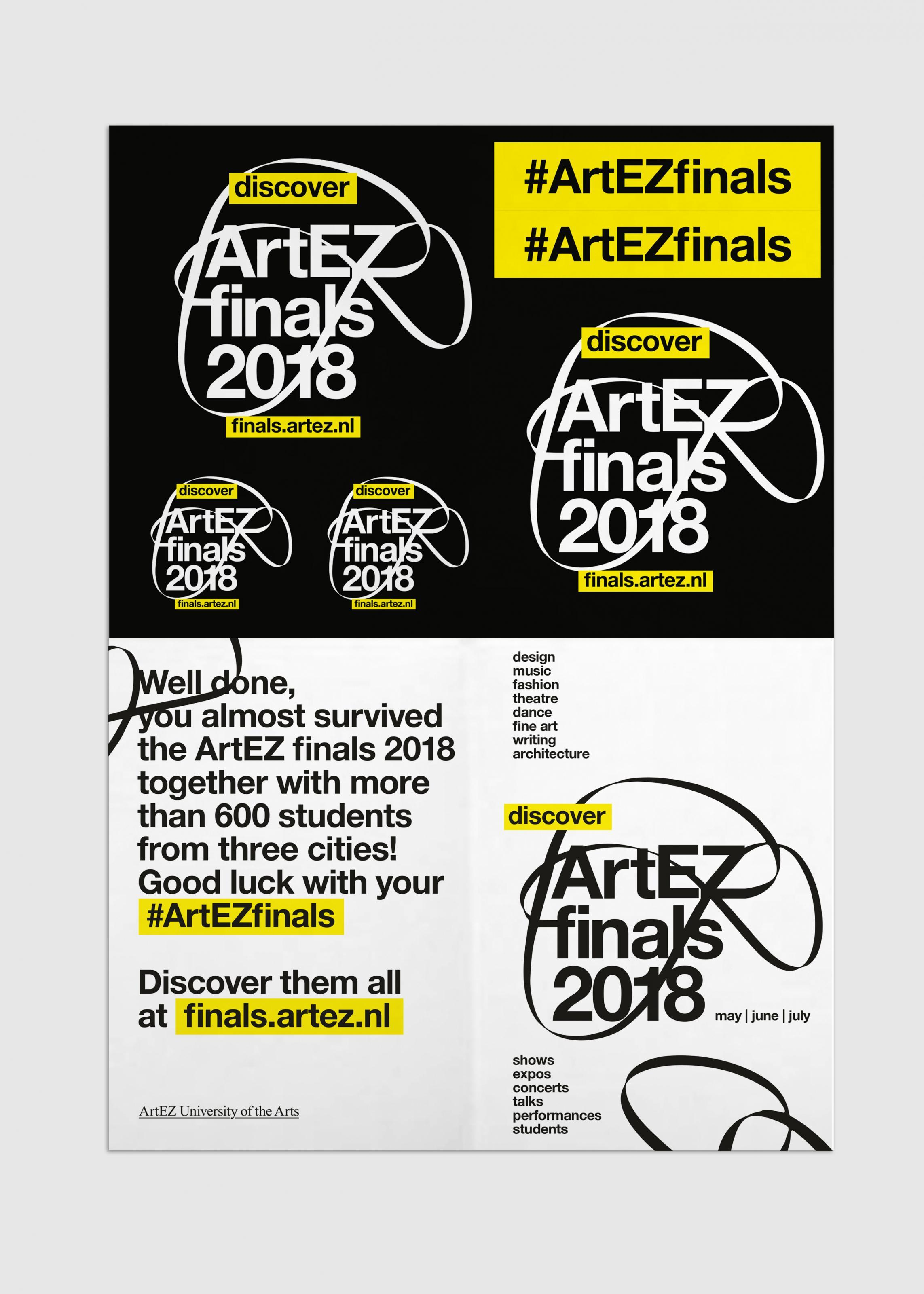 Artez Finals Stickers