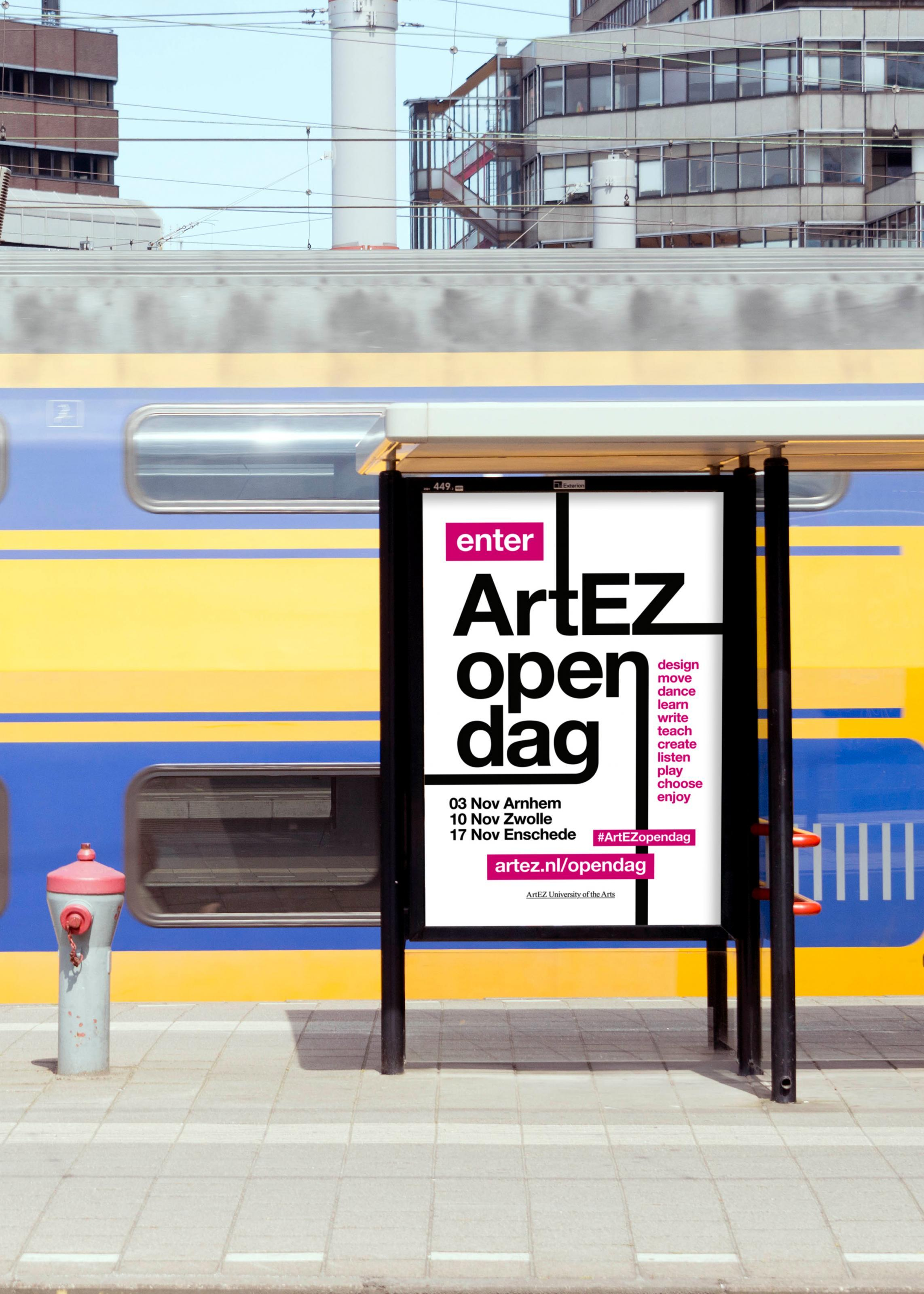 Artez Open Dag Stationsposter
